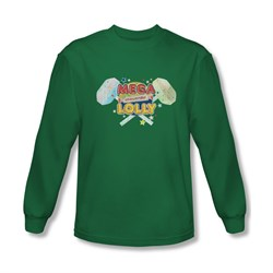 Smarties Shirt Mega Lolly Long Sleeve Kelly Green Tee T-Shirt