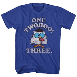 Tootsie Pop Shirt Mr Owl Twohoo Blue T-Shirt