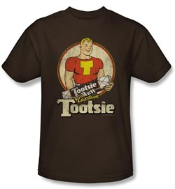 Tootsie Roll Kids T-Shirts - Captain Tootsie Coffee Tee Youth