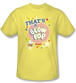 Charm's Blow Pop T-Shirts - That's A Charm's Blow Pop Adult Banana Tee