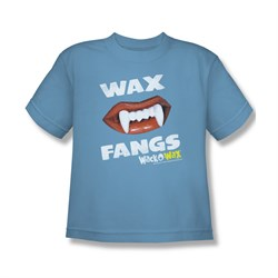 Wack O Wax Shirt Kids Fangs Carolina Blue T-Shirt