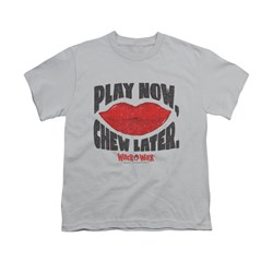 Wack O Wax Shirt Kids Play Silver T-Shirt