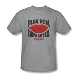 Wack O Wax Shirt Play Silver T-Shirt